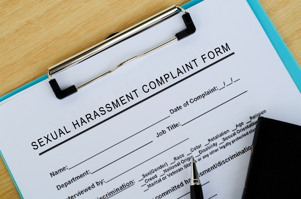 Sexual Harassment Complaint Form | Chamlin, Rosen, Uliano
