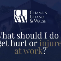 What should I do if I get hurt or injured at work?